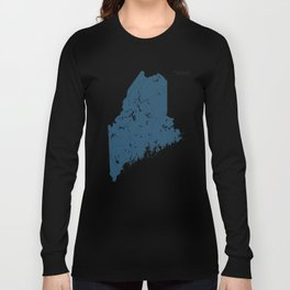 Maine Parks - v2 Long Sleeve T-shirt