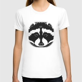 Stylized Raccoon T-shirt