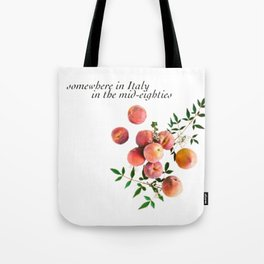 Call Me By Your Name - Inscription Tote Bag