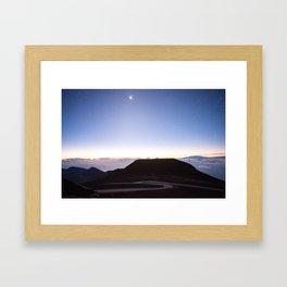 Haleakala Sunrise 3 Framed Art Print