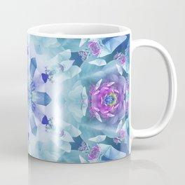 Royal Blue and Purple Mandala Coffee Mug