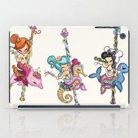 sassy iPad Cases featuring Sassy Seal by tsai-fi