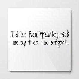 Nice Guy Ron Metal Print