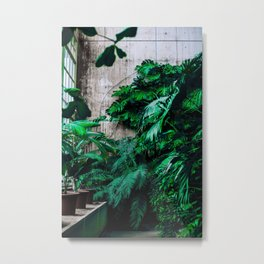 The Room's Green (Color) Metal Print