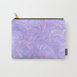 Pastel neon marbled design Carry-All Pouch