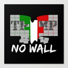 No wall TRUMP Canvas Print