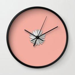 Flower #buyart #society6 Wall Clock
