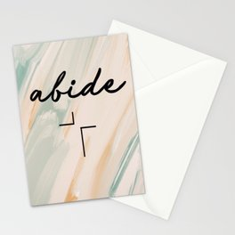 Abide | Artiste edition Stationery Cards