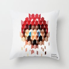 Crystal Mario Throw Pillow