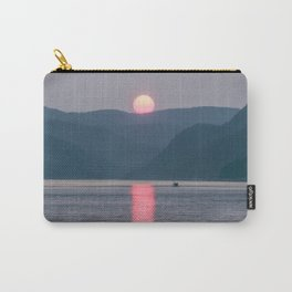 Sunset over the Fjord du Saguenay Carry-All Pouch
