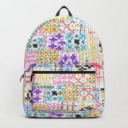 Havana Abstract Boho Tile Backpack