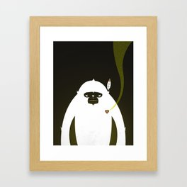 PERFECT SCENT - BIGFOOT 雪人 . EP001 Framed Art Print
