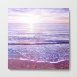 Europa Sunset Metal Print