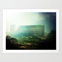 Municipal Building  Art Print