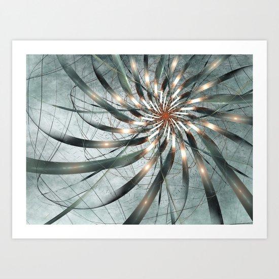 fairy frost Art Print