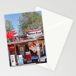 Hackberry General Store on Route 66, Arizona Stationery Cards