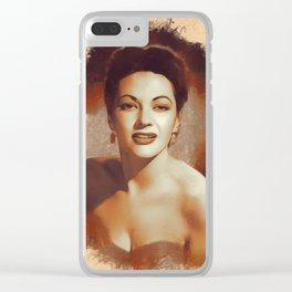 Yvonne De Carlo, Hollywood Legend Clear iPhone Case