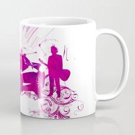 Scene 1 - purple car and guitarist Coffee Mug