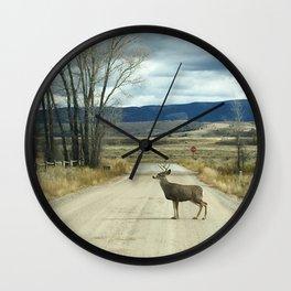 Stop x2 Wall Clock
