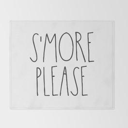 S'more Please Throw Blanket