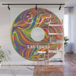 Electric Daisy Carnival Record Wall Mural