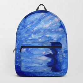 Ocean Blue Crystal Backpack