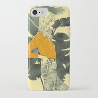 plants iPhone & iPod Cases featuring Plants by Magdalena Pankiewicz