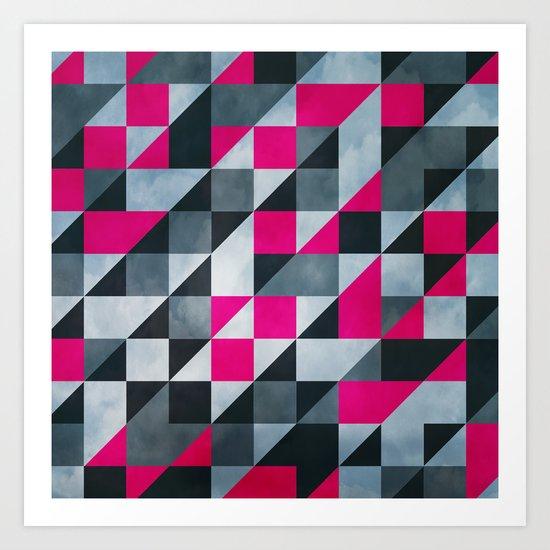 Geo3075 Art Print