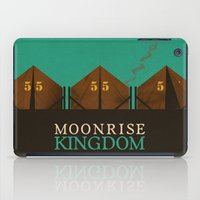 moonrise kingdom iPad Cases featuring MOONRISE KINGDOM by VAGABOND