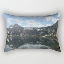 Bluebird Lake Rectangular Pillow