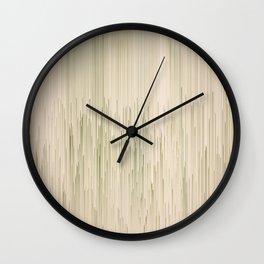 Planet Pixel Angels Weep Wall Clock