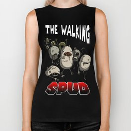 The Walking Spud Biker Tank
