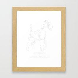 Irish-Terrier-tshirt,-just-freaking-love-my-Irish-Terrier Framed Art Print