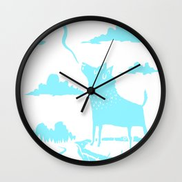 Doesn't Even Rhyme Wall Clock