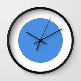 test blue dot 321 Wall Clock