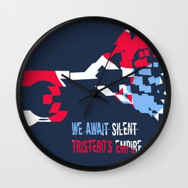 Tristero muted posthorn distorted, No. 2 Wall Clock
