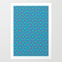 dazed and confused Art Prints featuring DAZED & CONFUSED by forgivmi