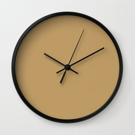 Glamour Gold Wall Clock