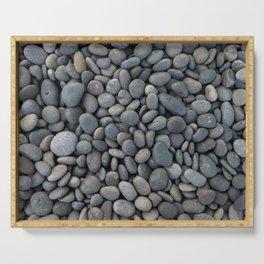 Gray pebbles Serving Tray