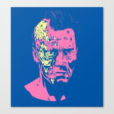 Terminator (neon) Canvas Print