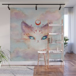 Stargazer Cat : Vision Seeker Wall Mural