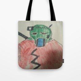 New Zombie stuff  Cyber Zombie Tote Bag