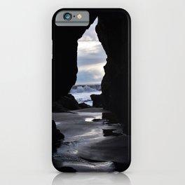 Cave at El Matador State Beach iPhone Case