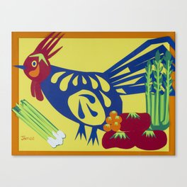 Chicken Salad Canvas Print