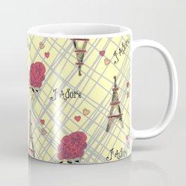 I Adore Paris Coffee Mug