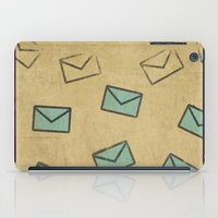 letter iPad Cases featuring Letter by sinonelineman