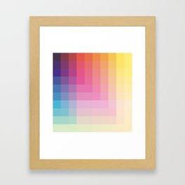 "Pastel Genuine Geometric ""Troll"" Framed Art Print"