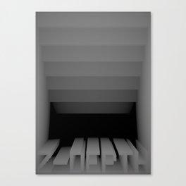 3D Z-DEPTH Canvas Print
