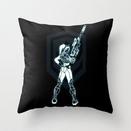 Locked and Loaded Throw Pillow