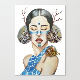 The song of the sirens Canvas Print